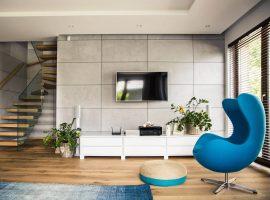 Concrete Aggregate - panel 3D foto