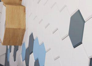 Honeycomb - panel 3D foto