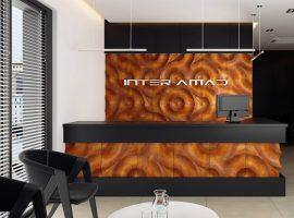 Oak Roots - panel 3D foto