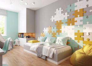 Puzzle - panel 3D foto