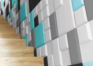 Temida Tiles - panel 3D foto
